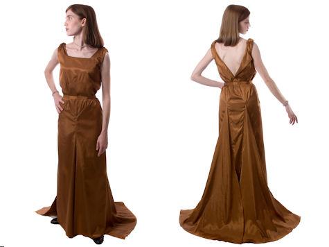 Copper Dress Custom Style