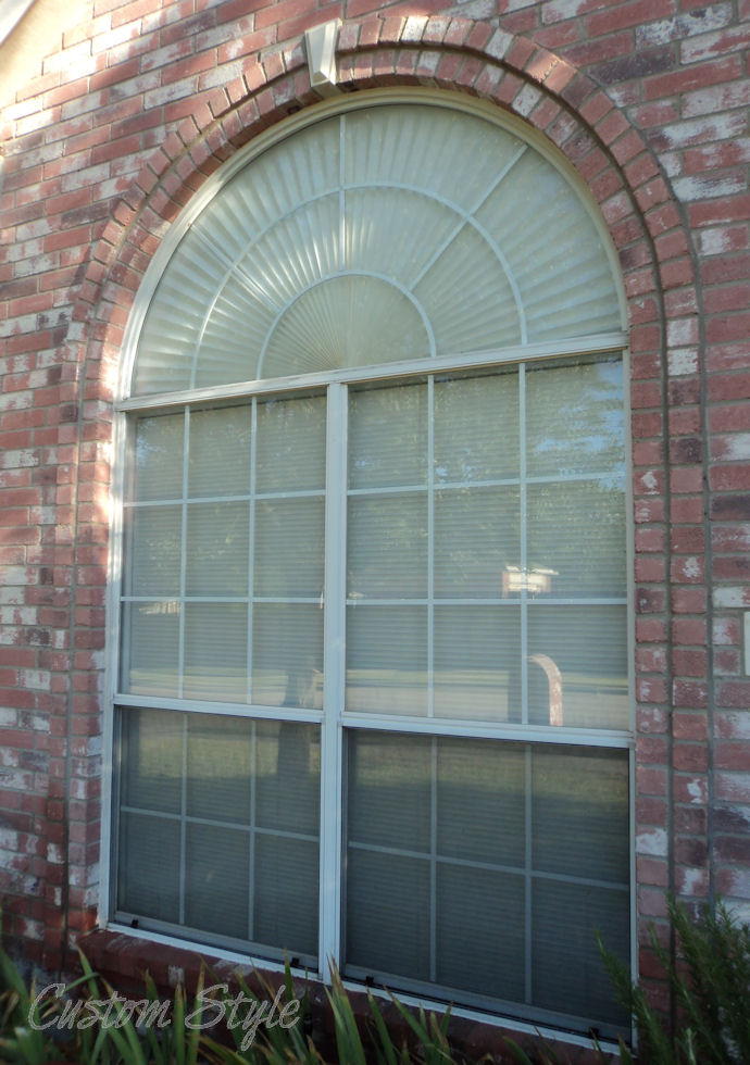 Diy Curtain For A Palladian Window Custom Style