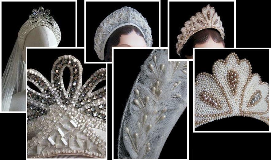 A Retro Headpiece For A 1930s Themed Wedding Custom Style