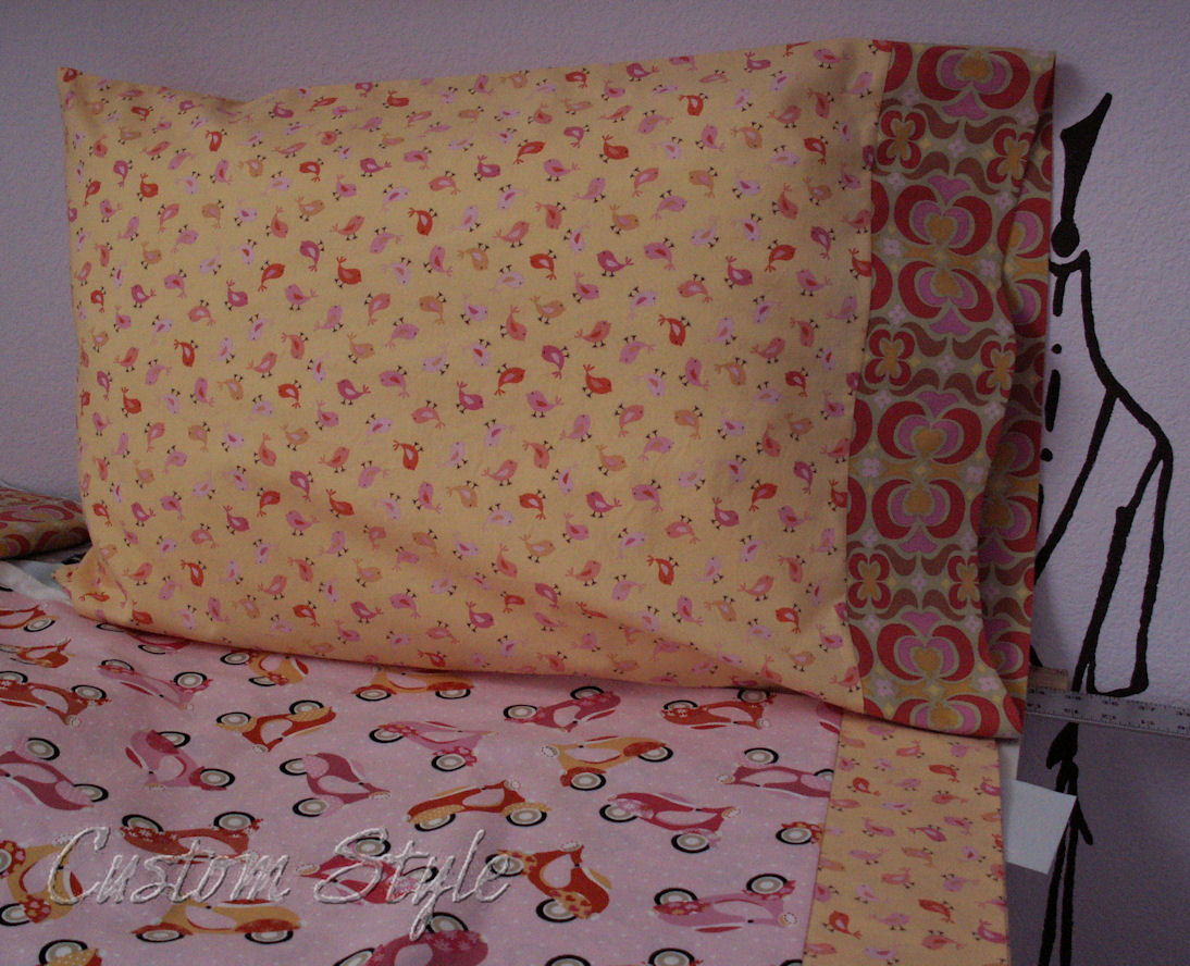 Make Your Own Pillowcases Custom Style