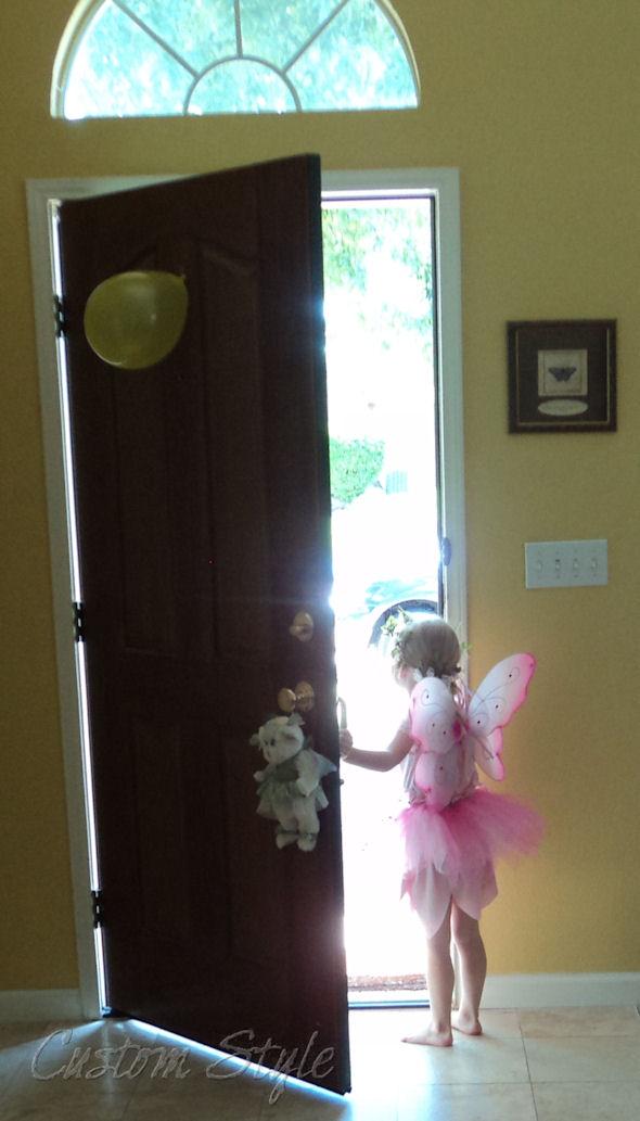 Fairy princess party custom style for Princess fairy door