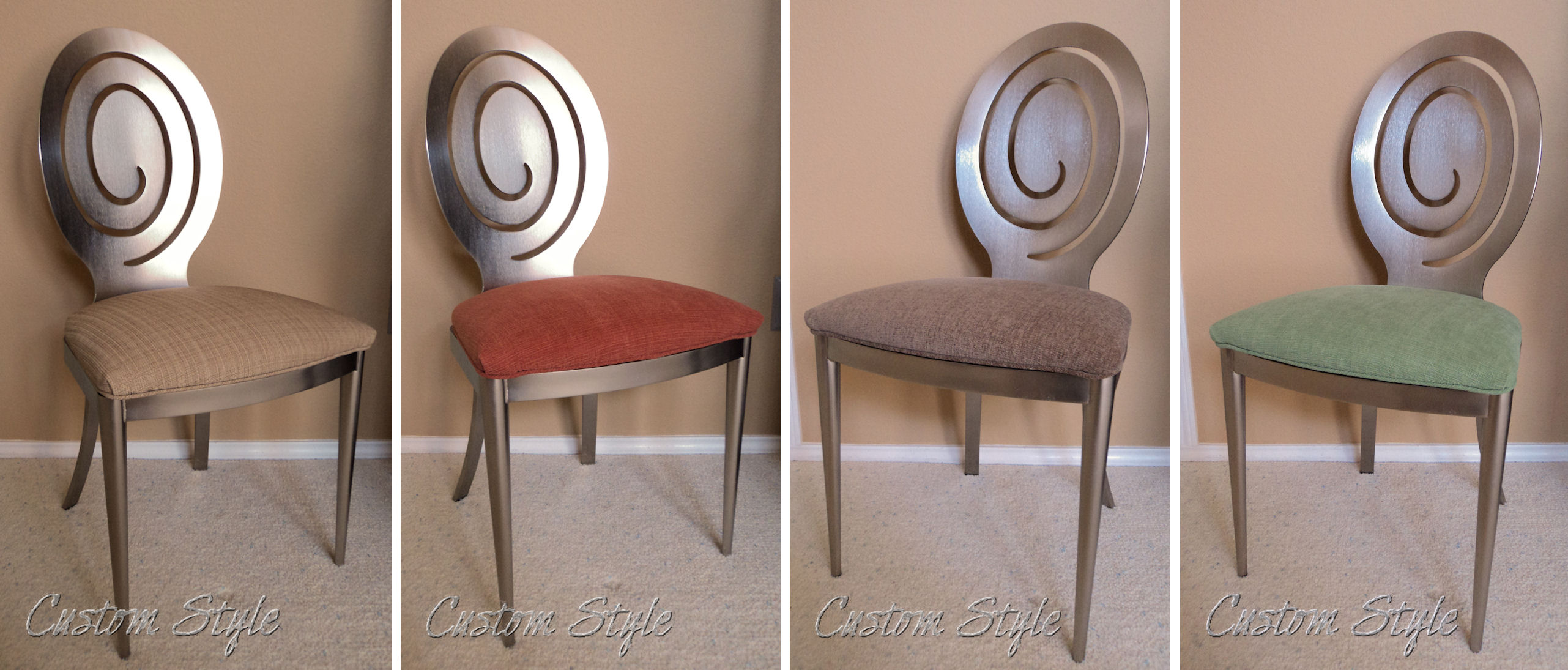 Reupholstering Dining Chair Cushions Custom Style