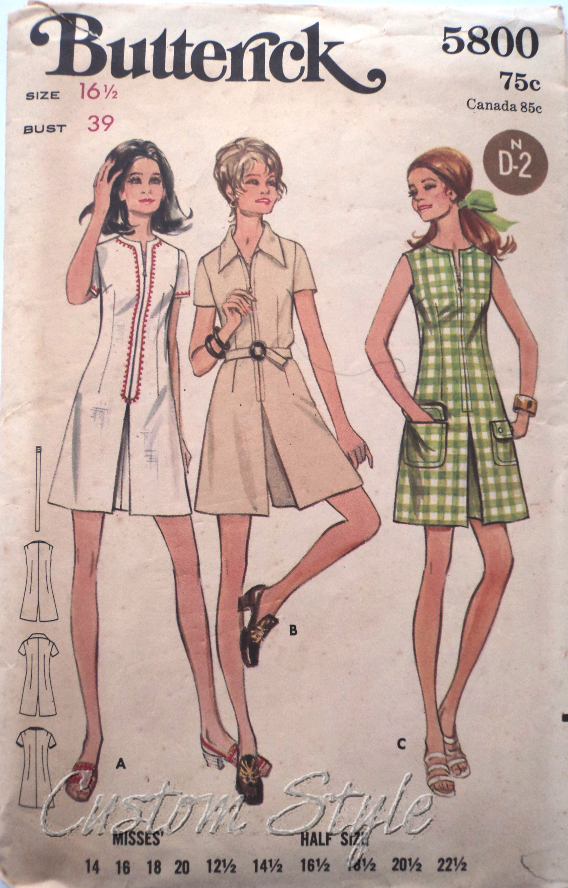 My Vintage Pattern Collection: 1960s & 1970s | Custom Style