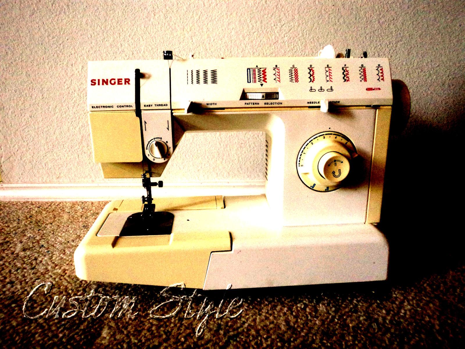 singer 90s sewing machine