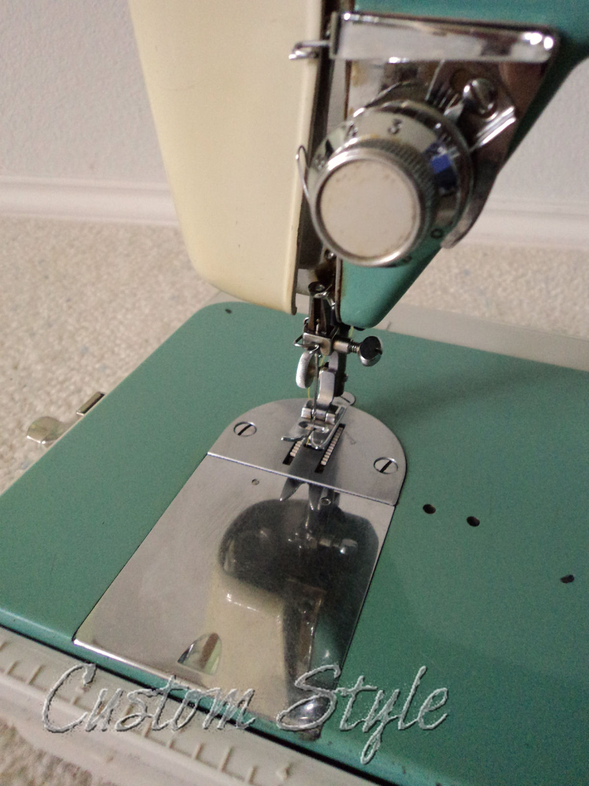 sewing machine guide plate