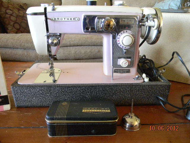 Brother 40 Custom Style Impressive Vintage Brother Sewing Machine Manual