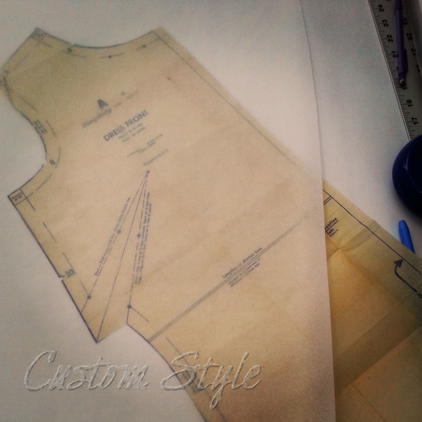 Tracing sewing patterns custom style for Where to buy blueprint paper