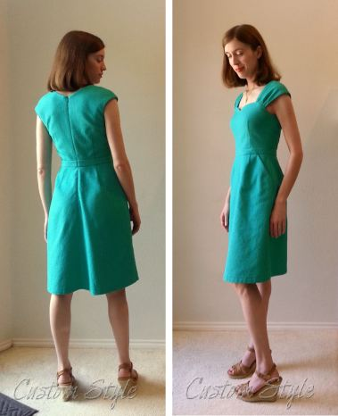 Green-Pique-Sewaholic-Cambie-Dress-Back&Side