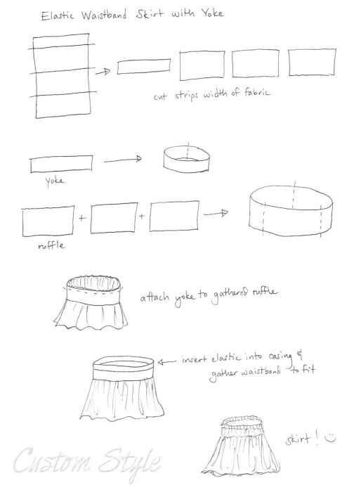 Sketch-How-to-Make-Simple-Skirt