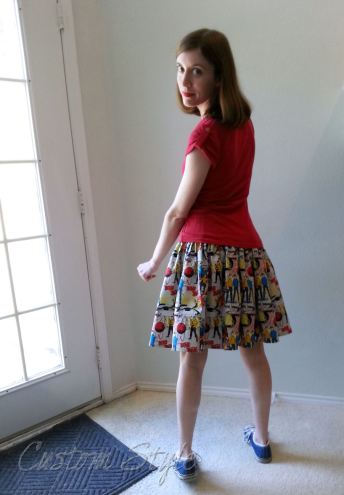 Star-Trek-TOS-Print-Skirt-Back