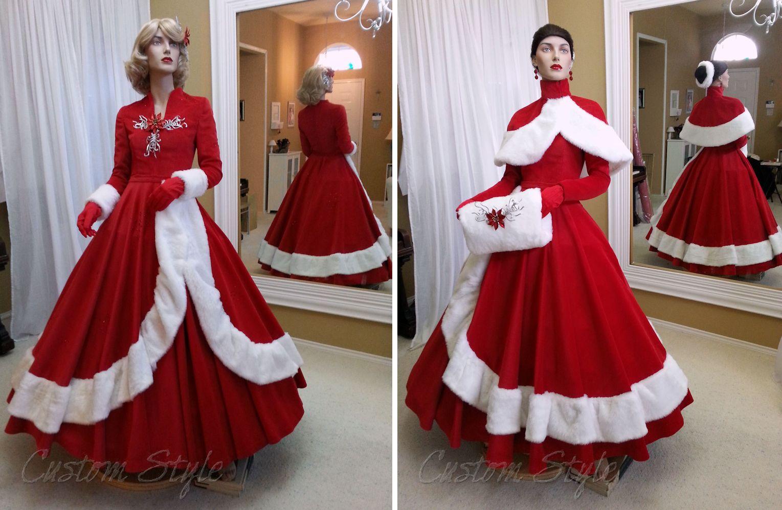 1950s Christmas Dresses – Fashion design images